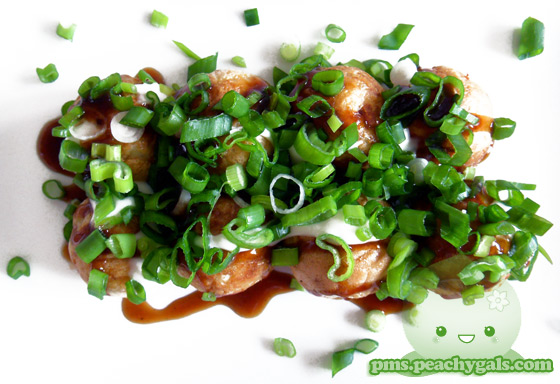 takoyaki mit topping