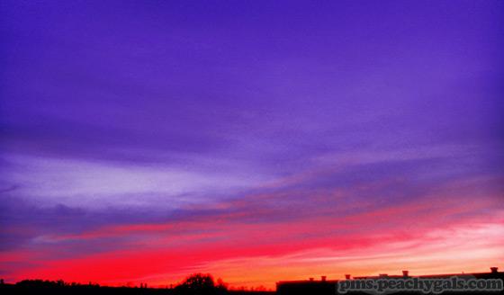 foto himmel sonnenuntergang