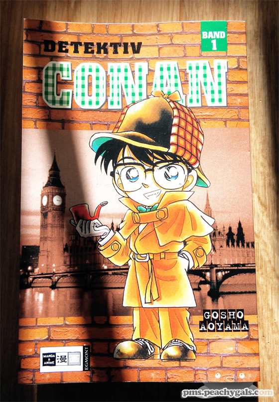cover detektiv conan manga band 1