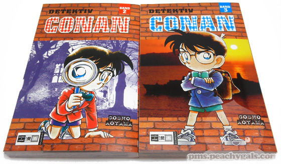detective conan mangas band 2 + 3