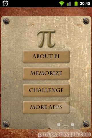 snapshot der app pi