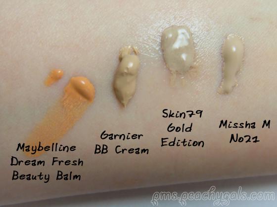 4 bb creams im vergleich direkt aus der tube
